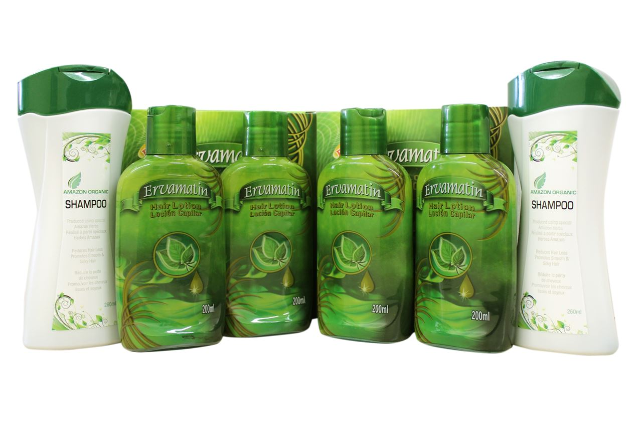 Picture of 2 sets Ervamatin™ & 2 Organic Shampoo